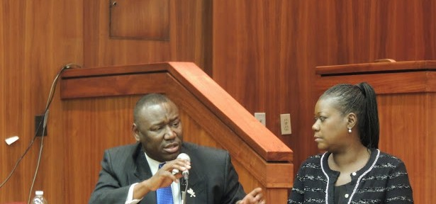 Sybrina Fulton and Benjamin Crump, Esq. visit Howard University School of Law.