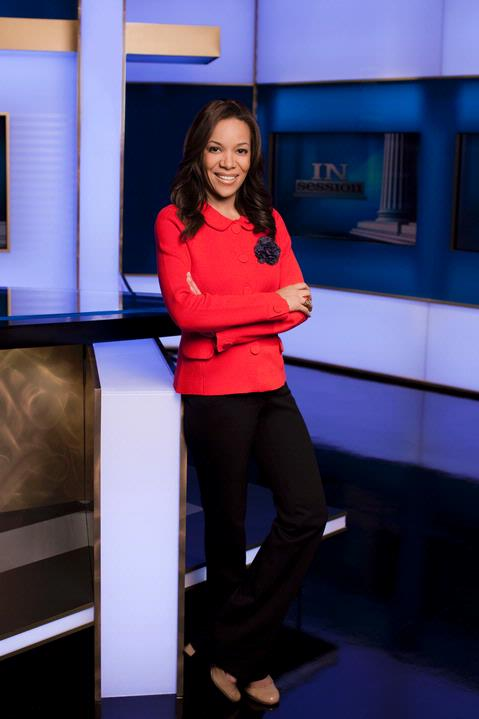 Sunny Hostin a legal analyst for CNN was among those offering commentary on the trial of George Zimmerman.