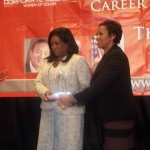 CCWC Diamond Award Winner Michelle Ifill SrVP General Counsel and Laurie Robinson Haden