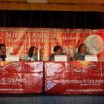 Precious Murchison (Greenberg Traurig), Jill Dessalines (McKesson), Sheri Hecht-Leonard (HorizonBCBSNJ), Dioynsia Johnson-Massie (Littler Mendelson)
