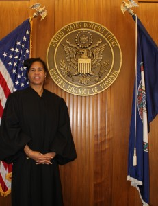 Judge Arenda Wright Allen this week overturned the state of Virginia's ban on same-sex marriage.