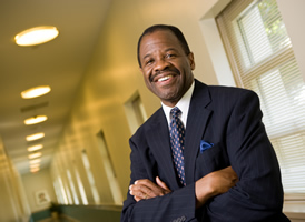 Blake Morant will serve as the dean of The George Washington University School of Law beginning Sept. 1, 2014