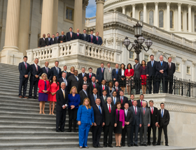 The newly elected members of Congress who were elected in November will take their seats Tuesday, January 3.